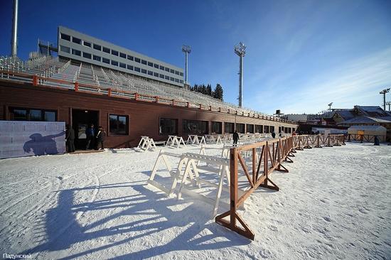 Khanty-Mansiysk, Russia biathlon championship 2011 view 4