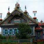 Amazing house of Russian blacksmith