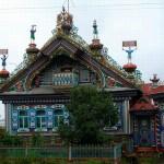 Amazing house of Russian blacksmith