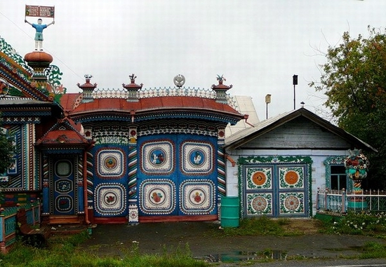 Russian blacksmith house view 2