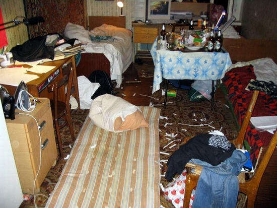 Russian dormitory scenery 6