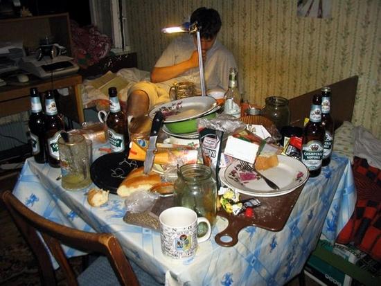 Russian dormitory scenery 7