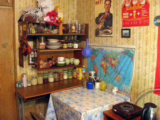 Russian dormitory scenery 9