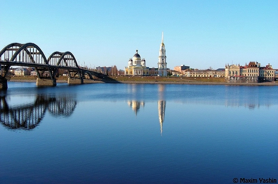 Rybinsk city, Russia view 1