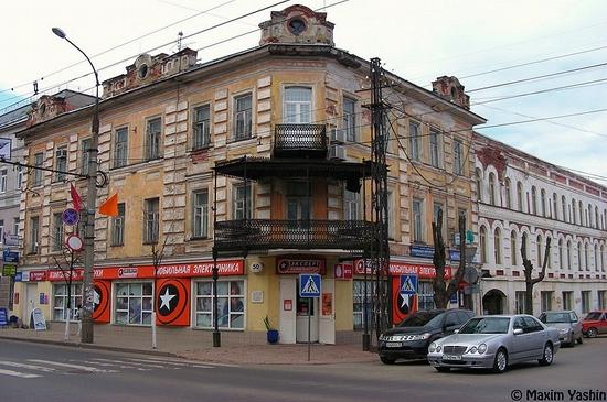 Rybinsk city, Russia view 7