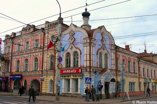 Rybinsk city, Russia view 9