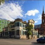 Picturesque streets of Samara