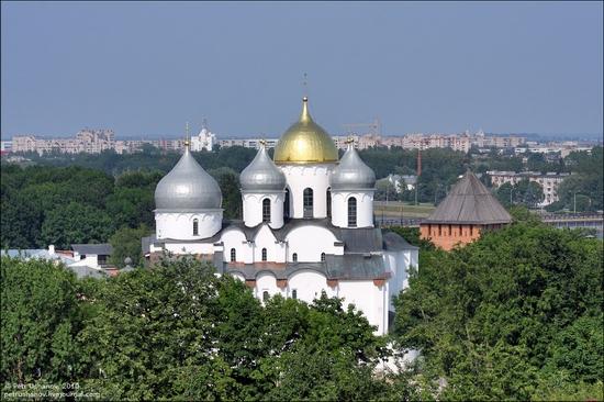 Velikiy Novgorod, Russia kremlin view 11