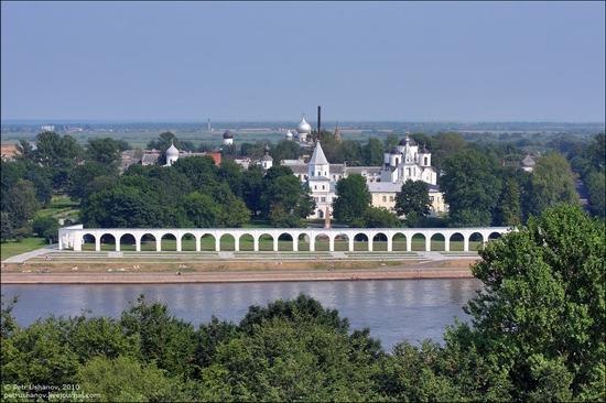 Velikiy Novgorod, Russia kremlin view 12