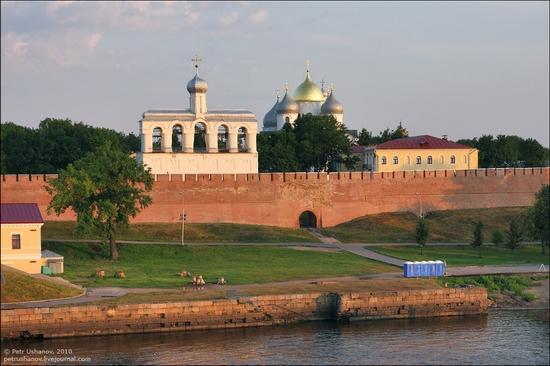 Velikiy Novgorod, Russia kremlin view 2