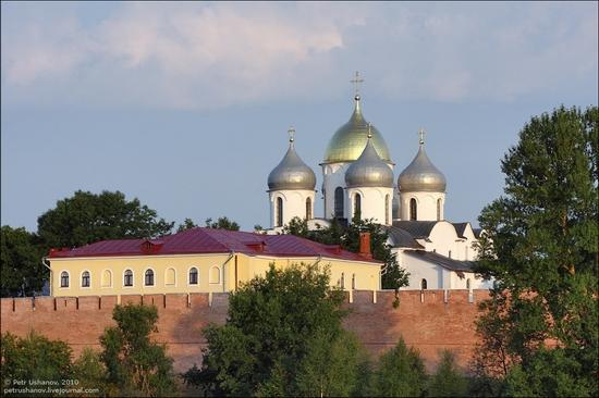 Velikiy Novgorod, Russia kremlin view 3