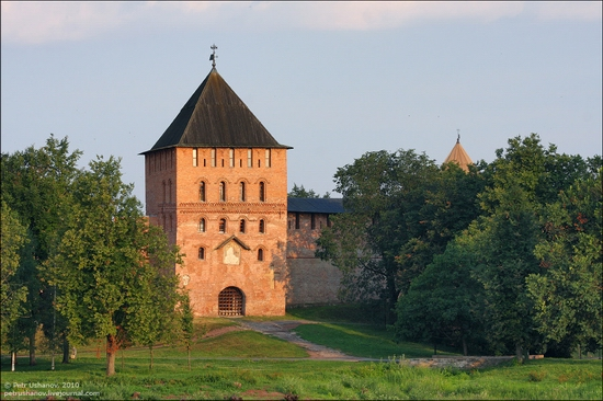 Velikiy Novgorod, Russia kremlin view 4