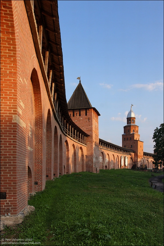 Velikiy Novgorod, Russia kremlin view 5