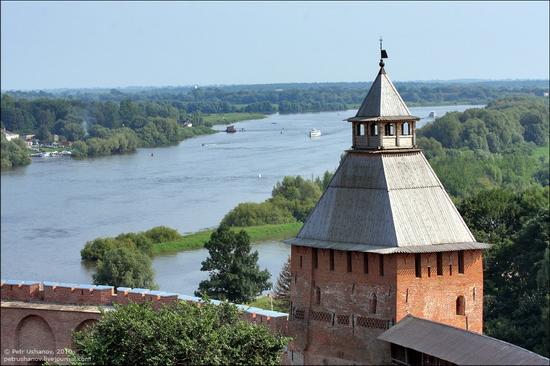 Velikiy Novgorod, Russia kremlin view 9