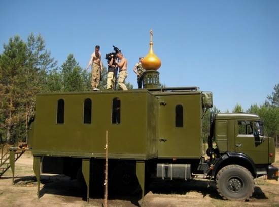 Battle church of Russian army view 2