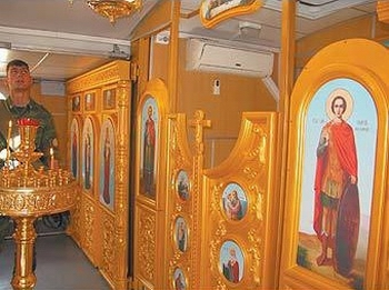 Battle church of Russian army view 4