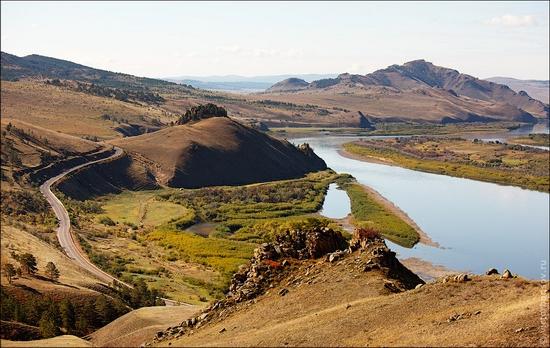 Buryatia Republic, Russia landscape 3