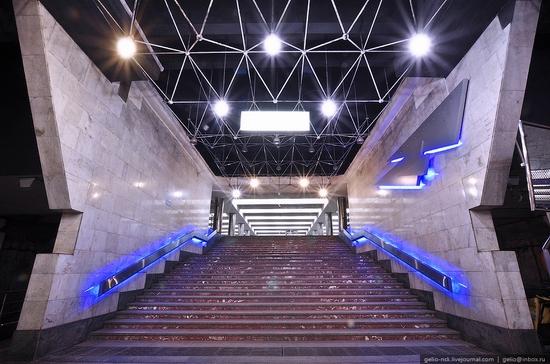 Gagarin subway station, Novosibirsk, Russia view 2