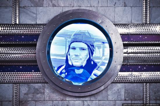 Gagarin subway station, Novosibirsk, Russia view 6