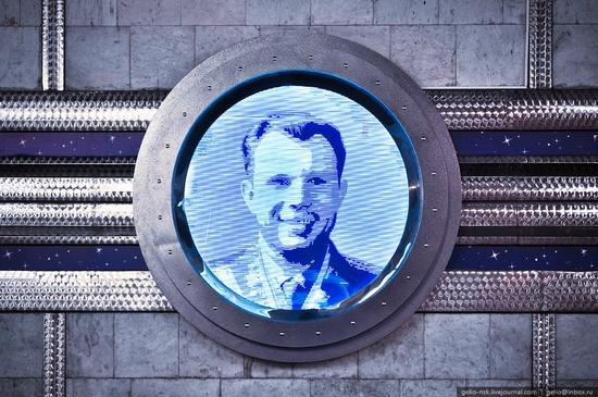 Gagarin subway station, Novosibirsk, Russia view 7