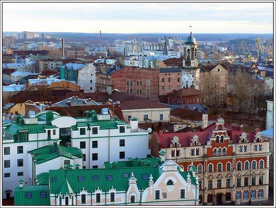 Vyborg city, Russia view 11