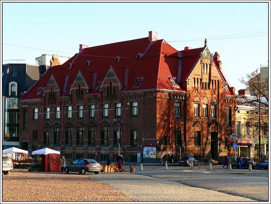 Vyborg city, Russia view 3