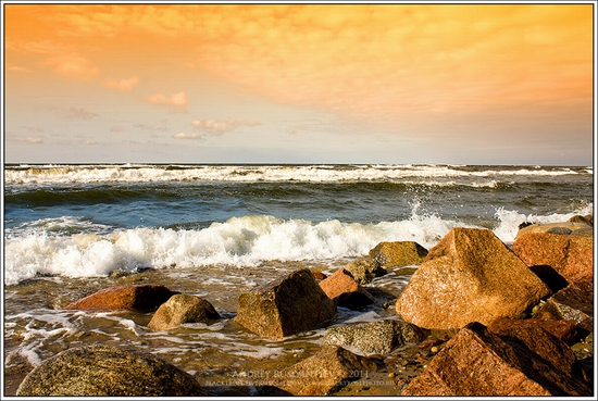 Baltic Sea coastline, Russia view 1