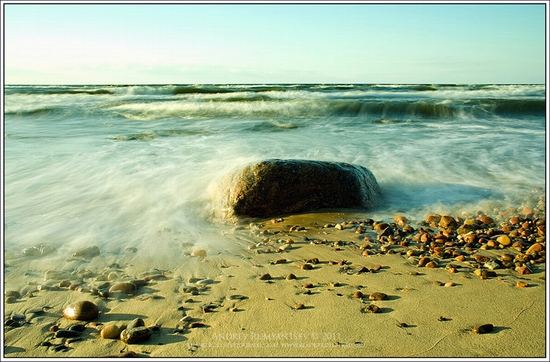 Baltic Sea coastline, Russia view 5