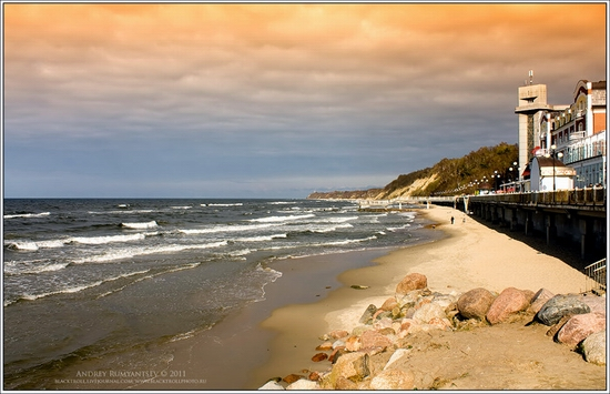 Baltic Sea coastline, Russia view 7