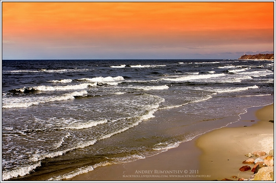 Baltic Sea coastline, Russia view 8