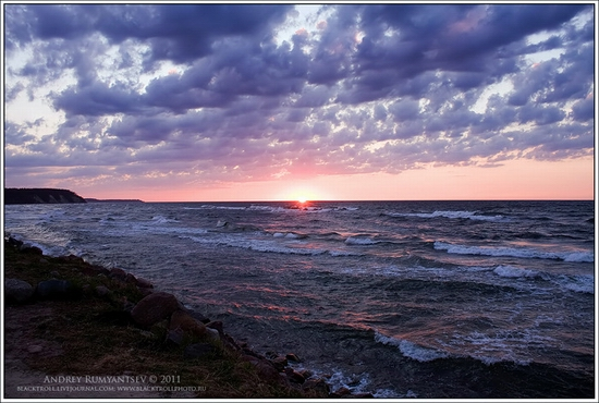 Baltic Sea coastline, Russia view 9
