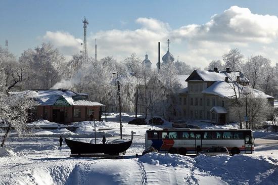 Belozersk, Vologda oblast, Russia view 4