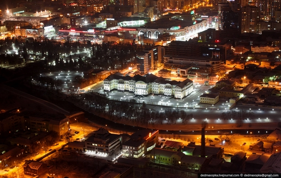 Ekaterinburg city, Russia aerial view 11