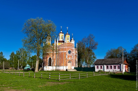 Transfiguration Church, Krasnoye, Tver oblast, Russia view 1