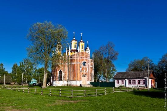 Transfiguration Church, Krasnoye, Tver oblast, Russia view 1