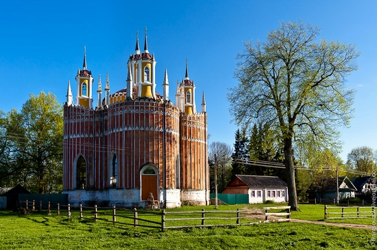 Transfiguration Church, Krasnoye, Tver oblast, Russia view 2
