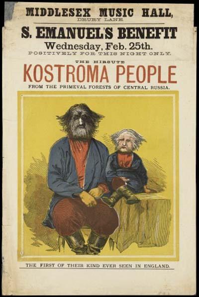 Kostroma people 1874 poster