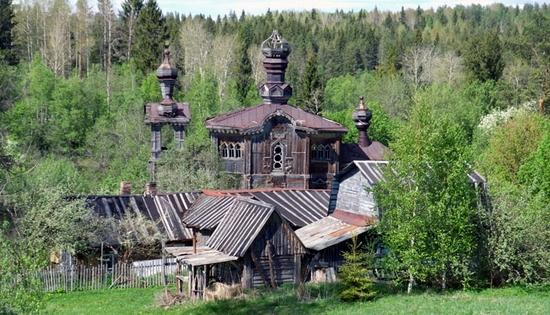 St Prophet Elisha church, Leningrad oblast, Russia view 1