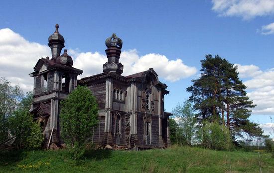 St Prophet Elisha church, Leningrad oblast, Russia view 6
