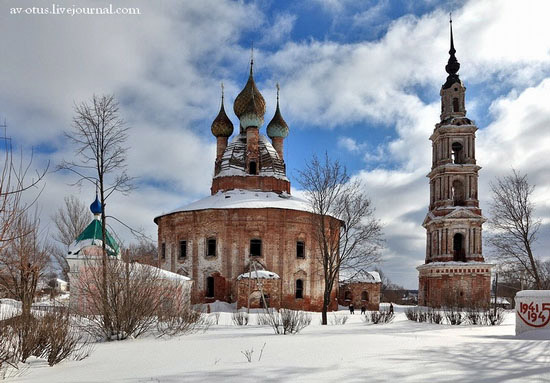 Church of Kazan Mother of God Icon, Kurba view 1