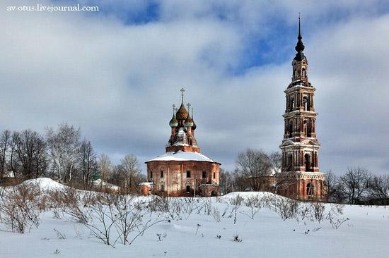 Church of Kazan Mother of God Icon, Kurba view 2