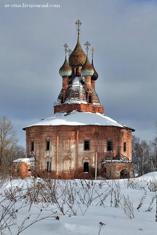 Church of Kazan Mother of God Icon, Kurba view 3