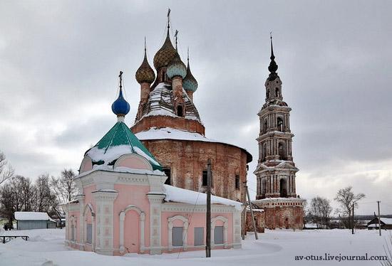 Church of Kazan Mother of God Icon, Kurba view 4