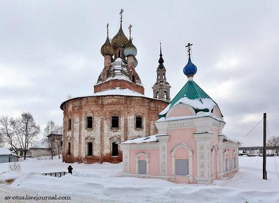 Church of Kazan Mother of God Icon, Kurba view 5