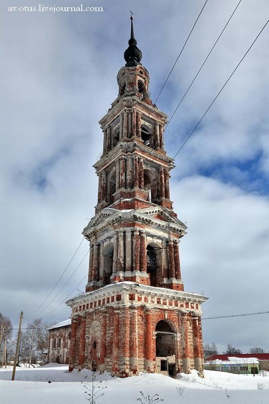 Church of Kazan Mother of God Icon, Kurba view 6