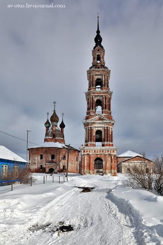 Church of Kazan Mother of God Icon, Kurba view 8