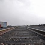 Deserted industrial outskirts of Norilsk