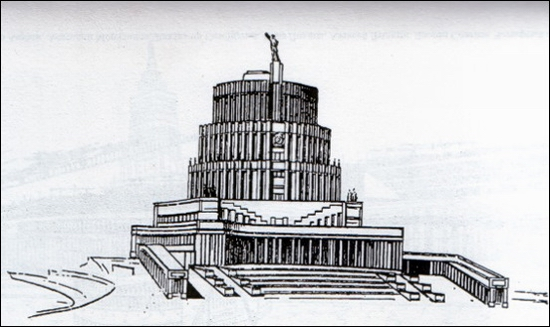 Moscow Palace of Soviets 12