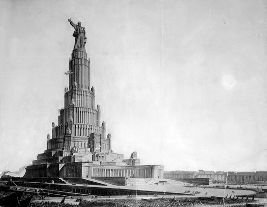 Moscow Palace of Soviets 3