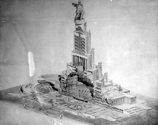 Moscow Palace of Soviets 4